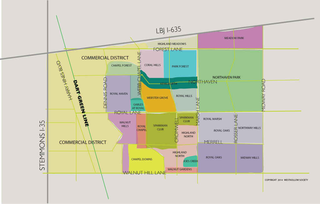 2014 Westhollow Map